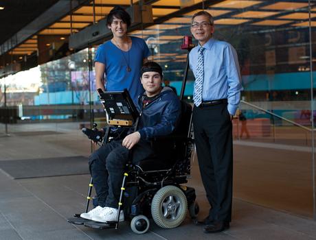 Αυτό είναι το μέλλον των ηλεκτροκίνητων αναπηρικών αμαξιδίων!